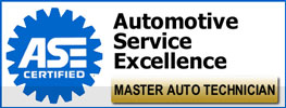ASE Certified Auto Repair Master Technicians
